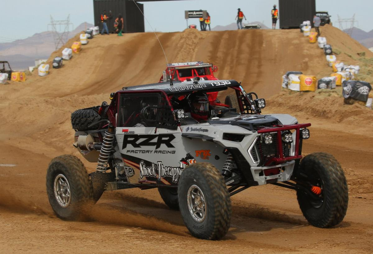 jake carver at the 2020 mint 400