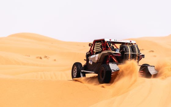 merzouga rally side by side UTV in the dunes 7