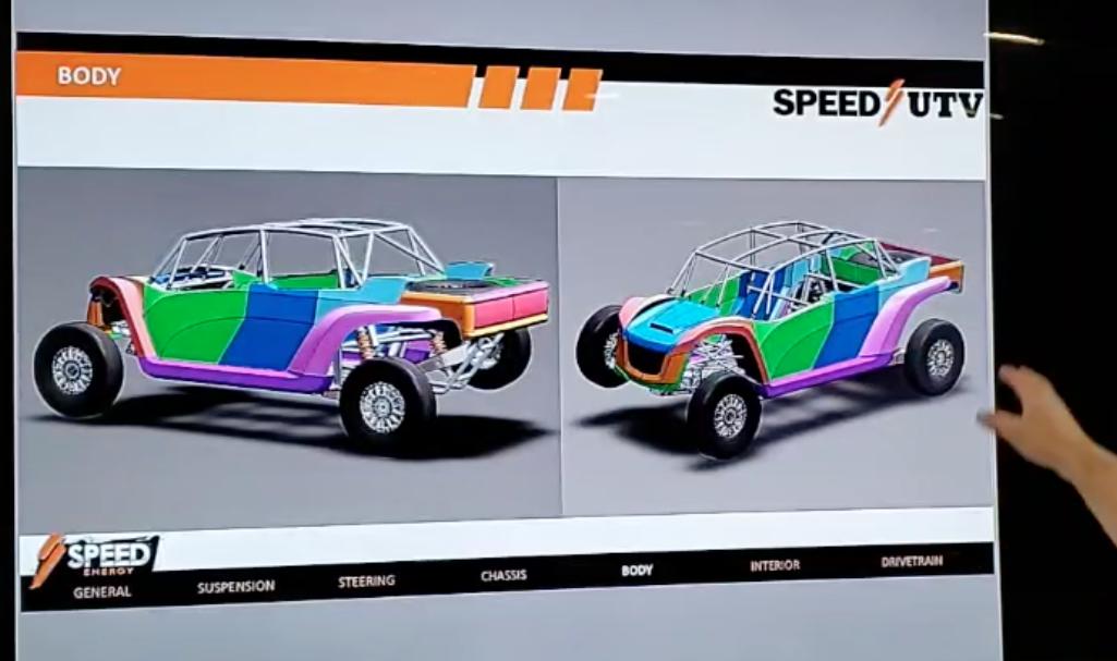 2021 speed UTV 4 seater body
