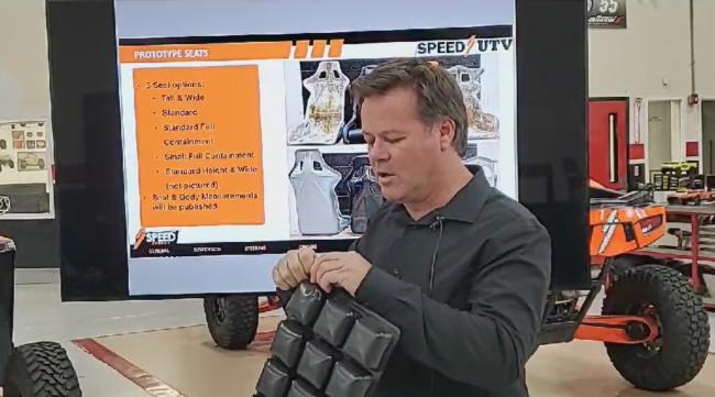 2021 speed UTV seat air cushions