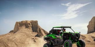Teryx KRX 1000 jumping utv