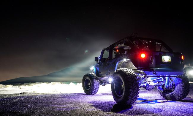 VisionX RockLights off road lighting