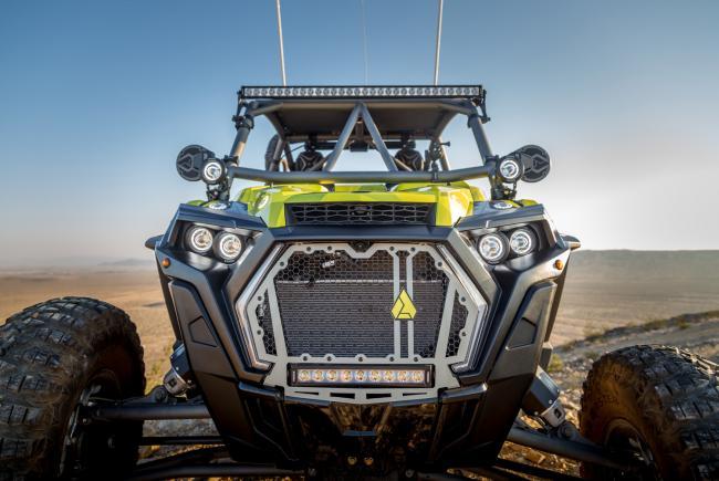 VisionX polaris rzr off road lighting off road racer