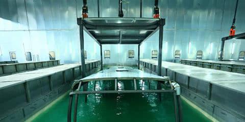 frame coating process speed UTV 1 1