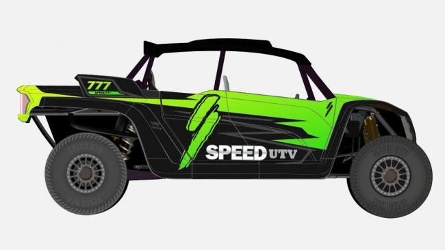 speed UTV black and green