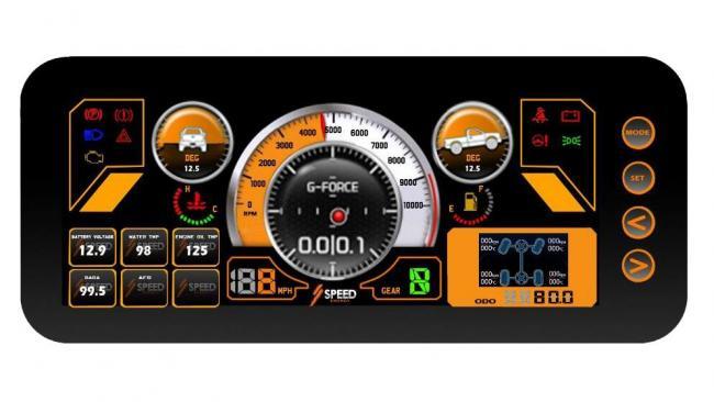 speed UTV dash 1