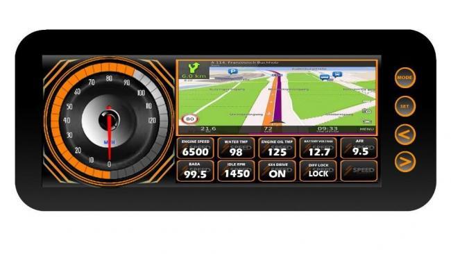 speed UTV dash 2