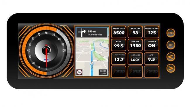 speed UTV dash 4