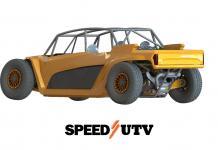 speed UTV from the back