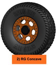 speed UTV wheel rg concave