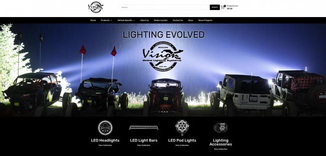 visionx off road lighting off road racer