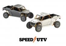 white and black speed UTV utt el jefe 2 seater