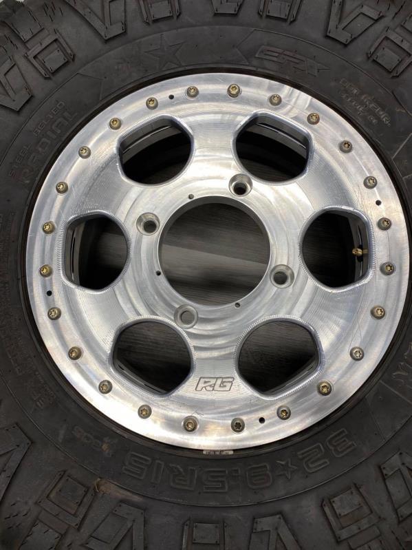 2 piece speed UTV bead lock wheel