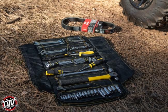 2020 Polaris Ranger 1000 assault on the go tool kit with cvt belt