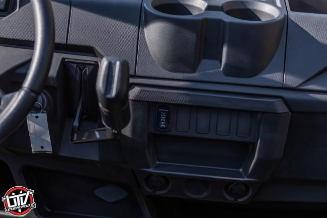 2020 Polaris Ranger 1000 buttons on dash