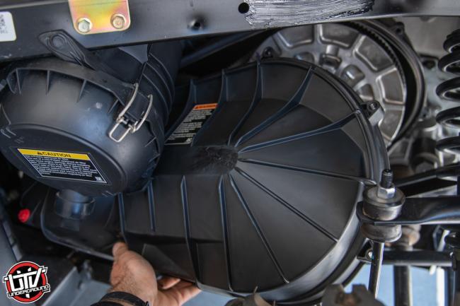 2020 Polaris Ranger 1000 how to replace cvt belt