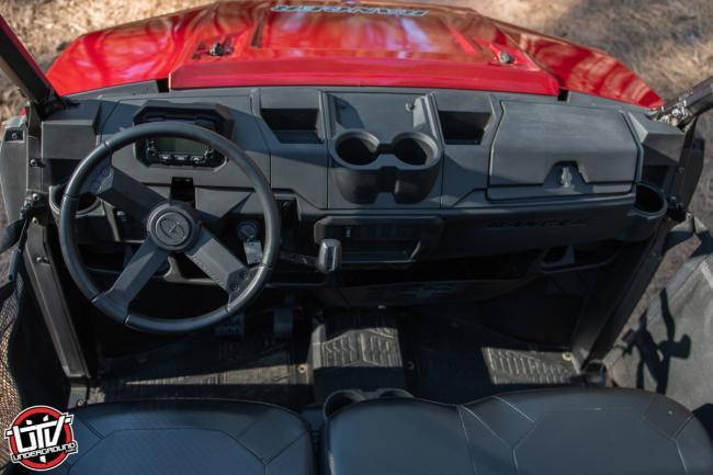 2020 Polaris Ranger 1000 interior