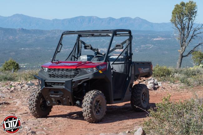 2020 Polaris Ranger 1000 off roading