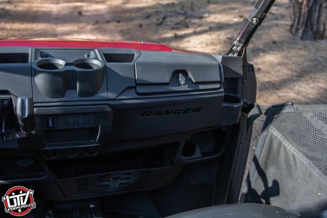 2020 Polaris Ranger 1000 passanger side storage