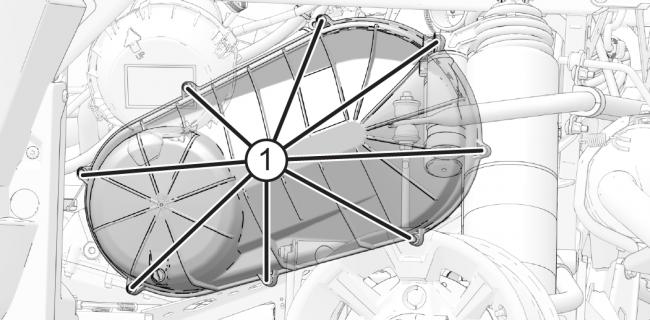 2020 polaris ranger clutch cover bolt location