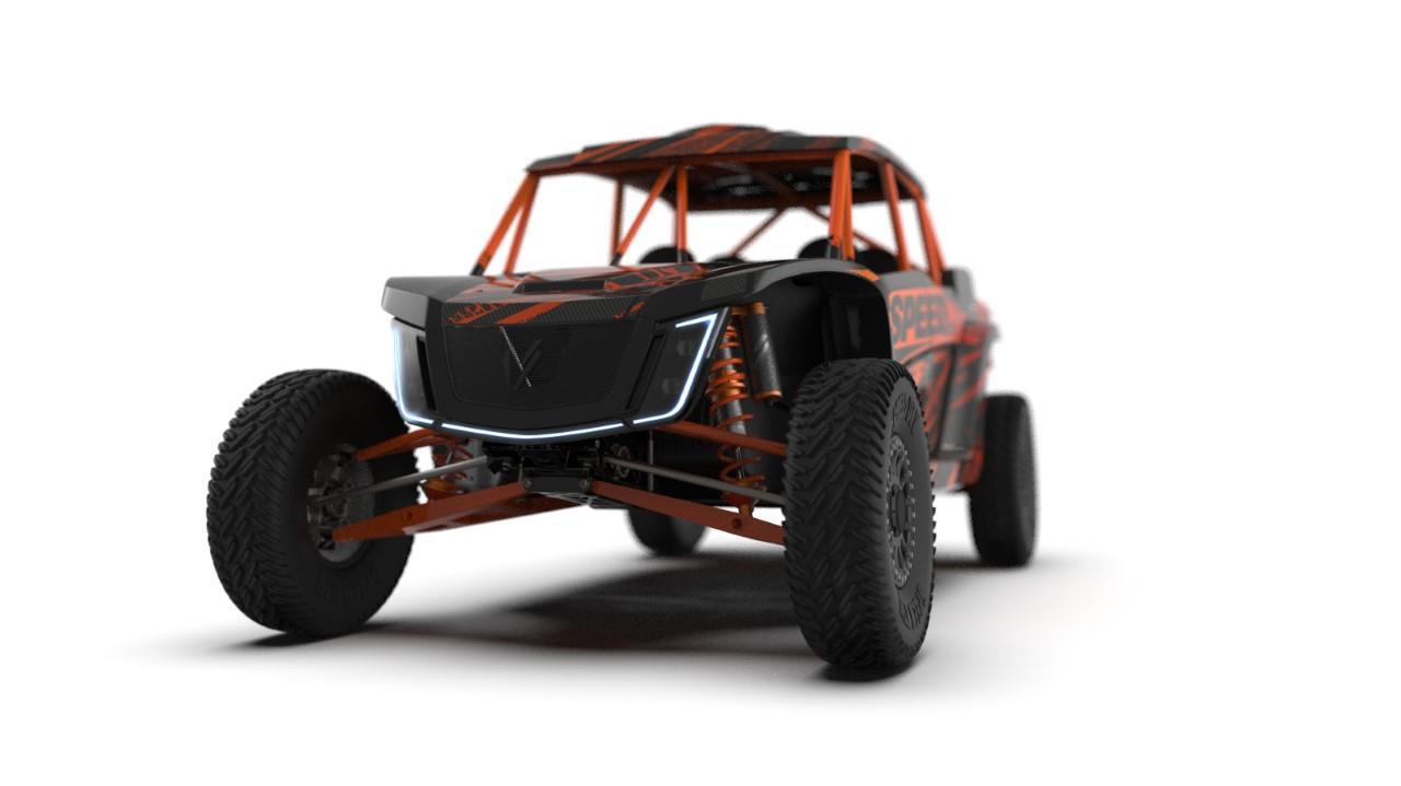 2021 speed UTV el jefe 4 seater robby gordon edition