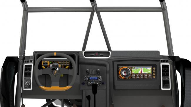 2021 speed UTV interior dash vents and passanger monitor