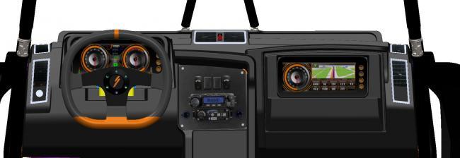 2021 speed utv dash interior