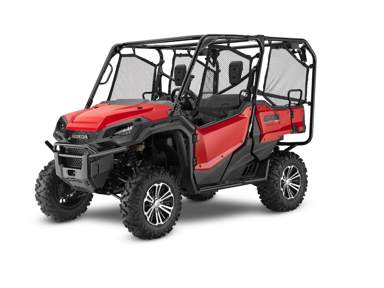 2021 Honda Pioneer 1000 5 Deluxe Red