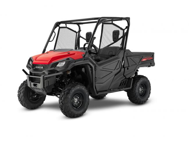2021 Honda Pioneer 1000 Red
