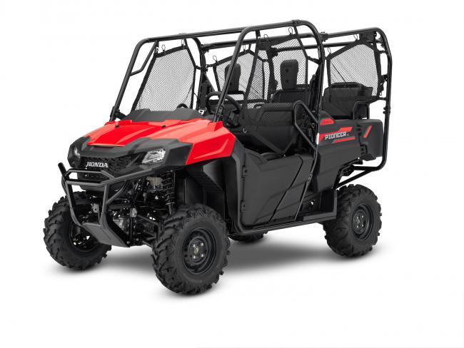 21 Honda Pioneer 700 4 Red