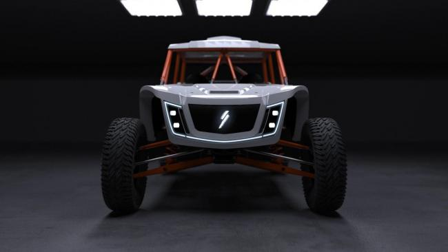 4 seat speed UTV from the front