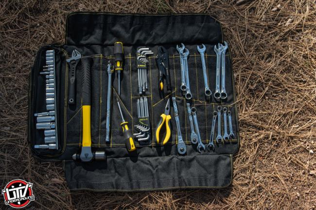 Assault On The Go Tool Kit included tools