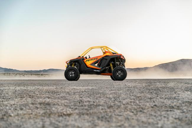 Polaris RZR PRO XP Orange Madness 2 Seater From the side