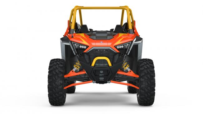 Polaris RZR PRO XP Orange Madness 2 Seater from the front