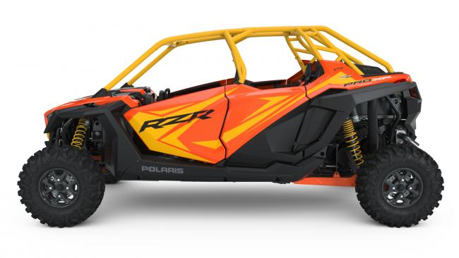 Polaris RZR PRO XP Orange Madness 4 Seater driver left side