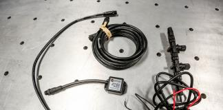 Rugged Routes UTV Infrared Belt Tempature Sensor what do you get in the kit