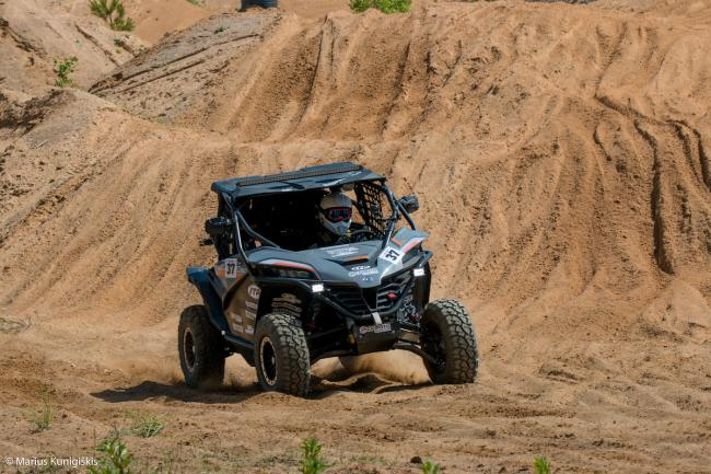 cfmoto factory racing team UTV side by side race in lithuania 10