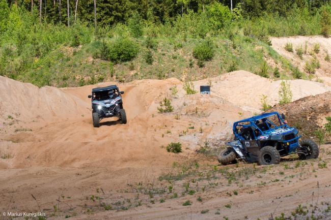 cfmoto factory racing team UTV side by side race in lithuania 11