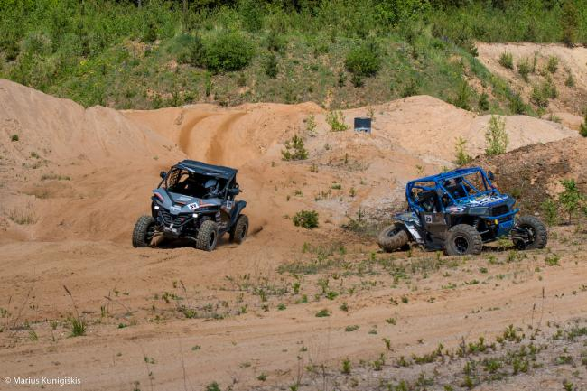 cfmoto factory racing team UTV side by side race in lithuania 12