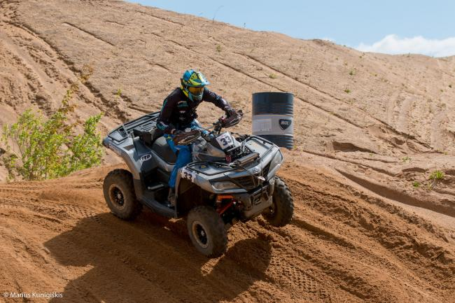 cfmoto factory racing team UTV side by side race in lithuania 19