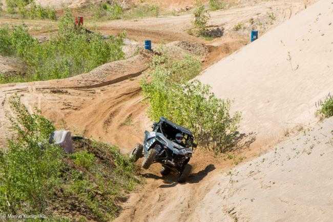 cfmoto factory racing team UTV side by side race in lithuania 2