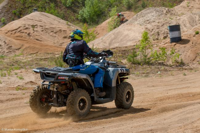 cfmoto factory racing team UTV side by side race in lithuania 20