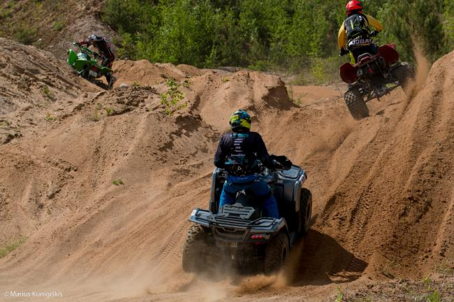 cfmoto factory racing team UTV side by side race in lithuania 21