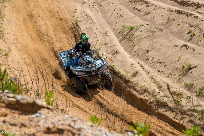 cfmoto factory racing team UTV side by side race in lithuania 25