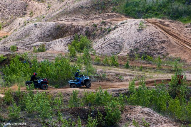 cfmoto factory racing team UTV side by side race in lithuania 27