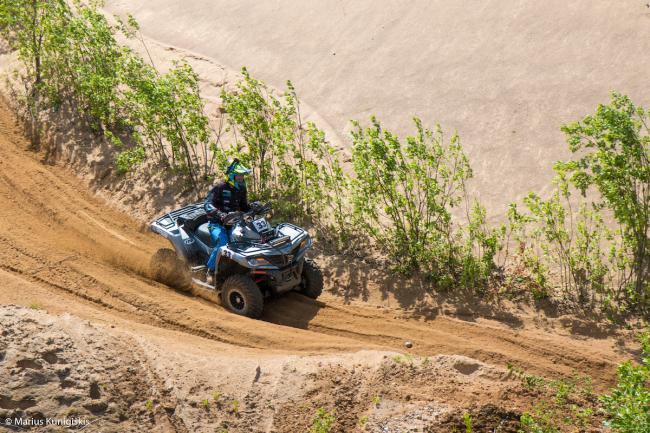 cfmoto factory racing team UTV side by side race in lithuania 28