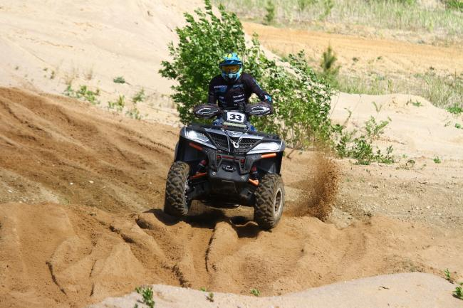 cfmoto factory racing team UTV side by side race in lithuania 40