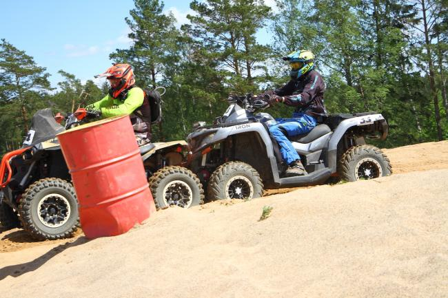 cfmoto factory racing team UTV side by side race in lithuania 41