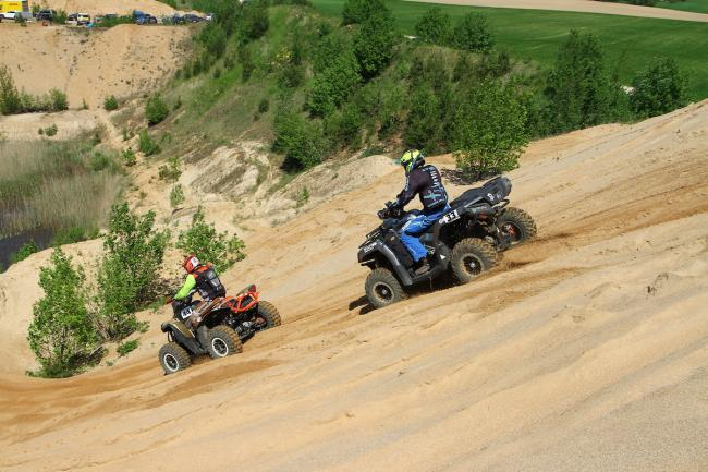 cfmoto factory racing team UTV side by side race in lithuania 43