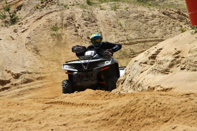 cfmoto factory racing team UTV side by side race in lithuania 44